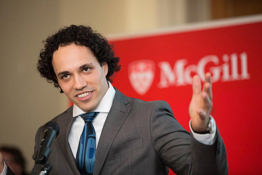 Photographie événementielle lors d'une conférence à McGill