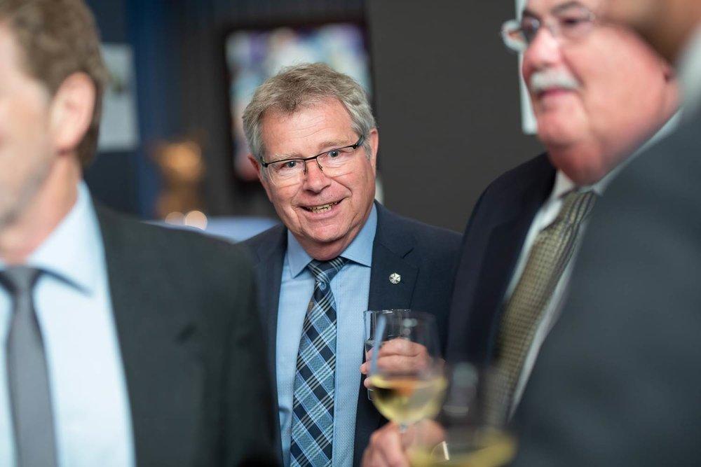 Photo d'événement durant un cocktail