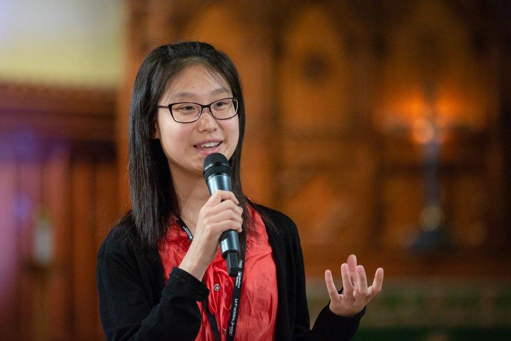 Photo pendant un événement pour les jeunes