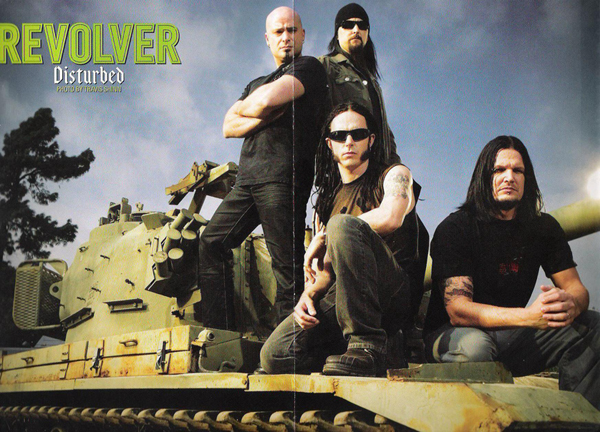 Revolver Magazine / Disturbed