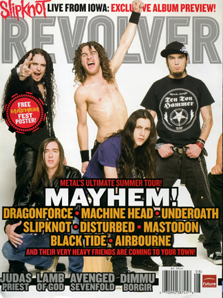 Revolver Magazine / Mayhem Tour
