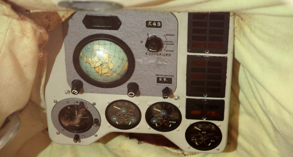 Vostok-1 Instrument Panel