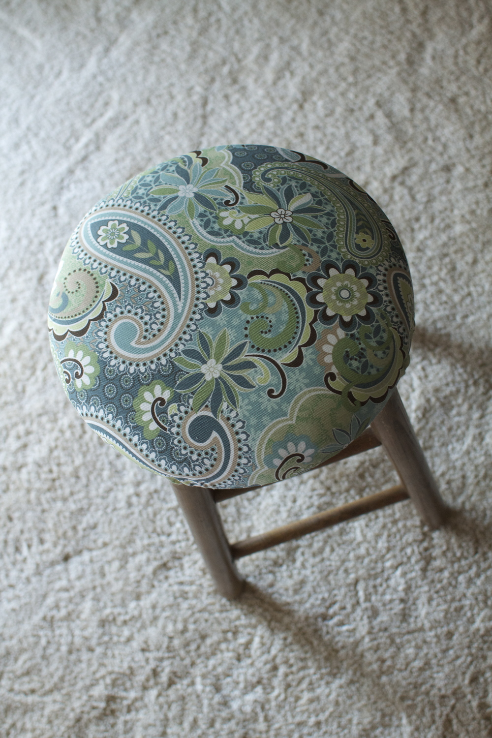 Barstool with Fresh Fabric