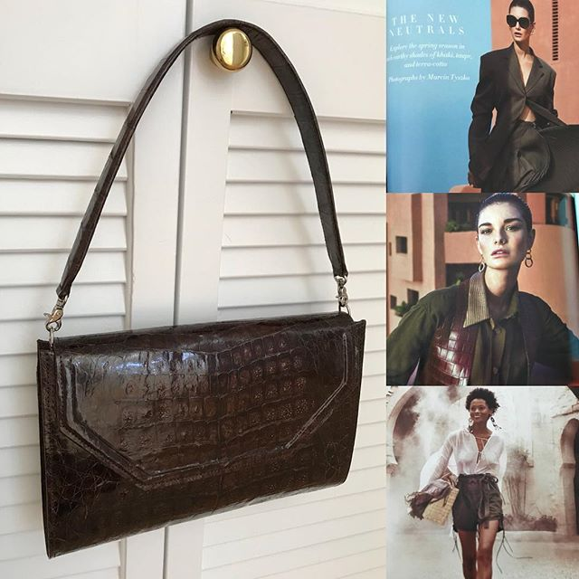It's refreshing to see shades of brown, always a classic neutral and rich looking❣️ The Madison w/ a shoulder strap #classic #classicstyle #mystyle #womenstyle #womenfashion #womenbag #luxurybags #richcolor #ladybag