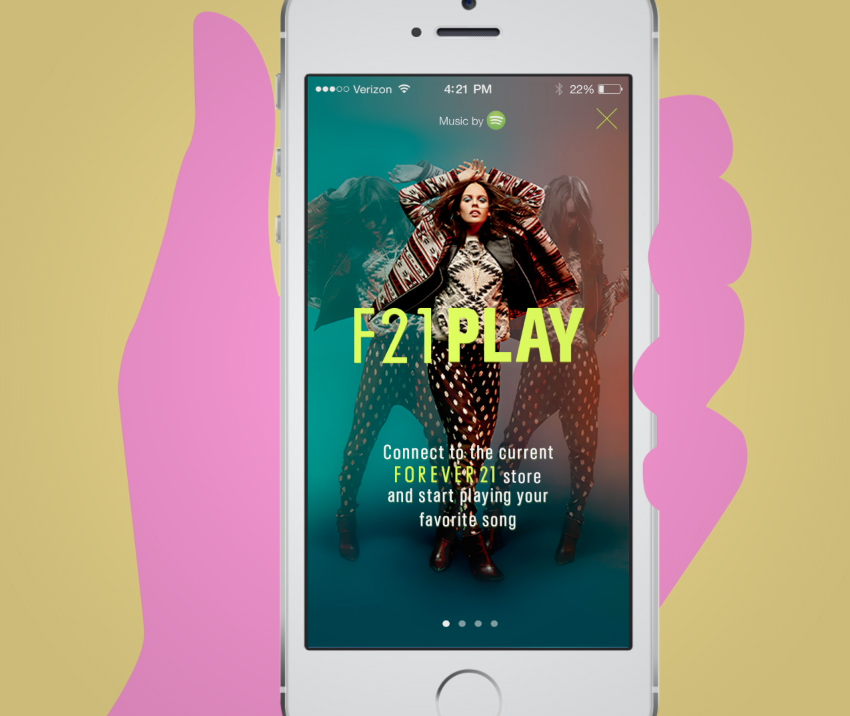 F21 PLAY CASE STUDY / EXPERIENCE DESIGN / MOTION GRAPHICS