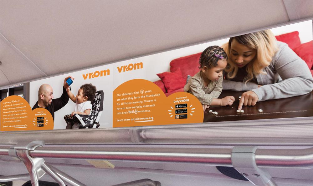 Dallas Bus Print Ads