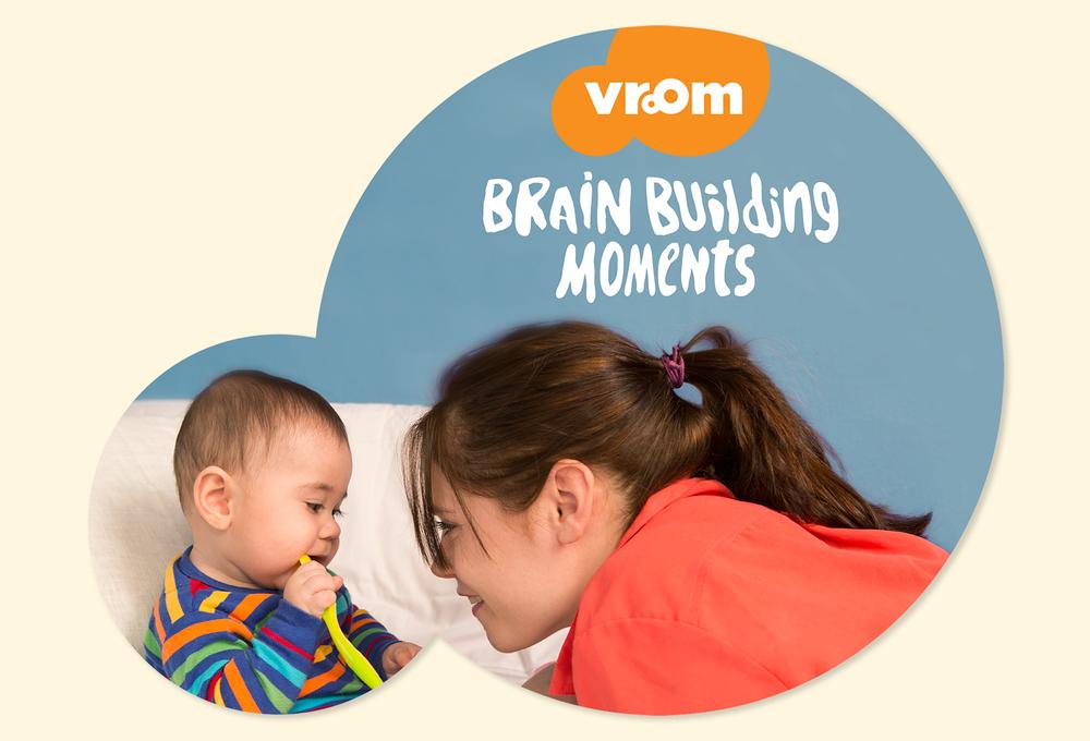 Vroom + Amazon Mom Baby Registry Box Inset  Front