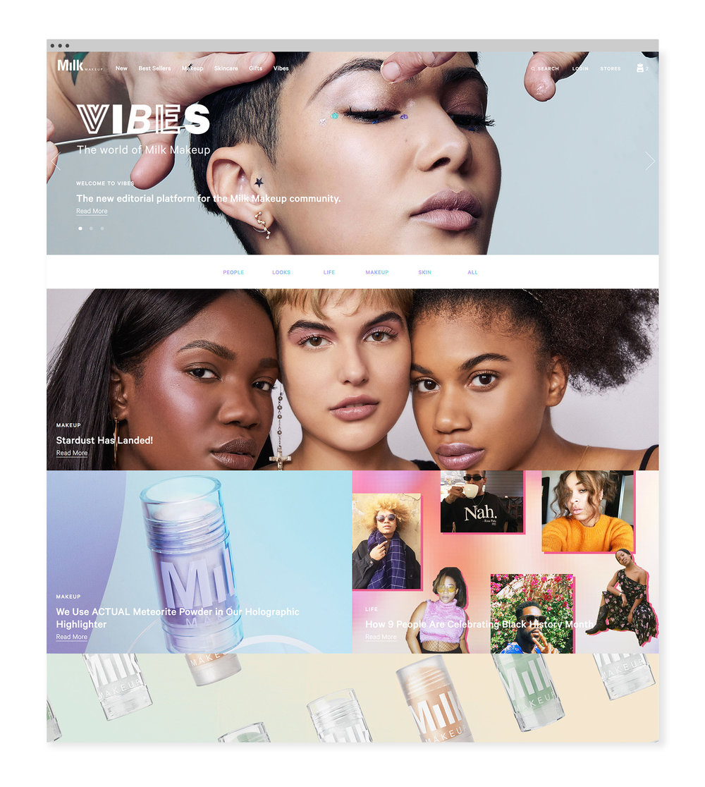 milkmakeup.com/VIBES is an editorial platform for the Milk Makeup community.
