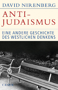 The German edition's title translates to Anti-Judaism: Another History of Western Thought, a variation from the the US edition, released two years earlier in 2013.