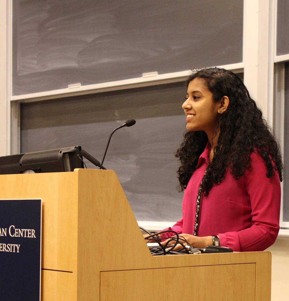 Greeshma Rajeev-Kumar, Morse '16