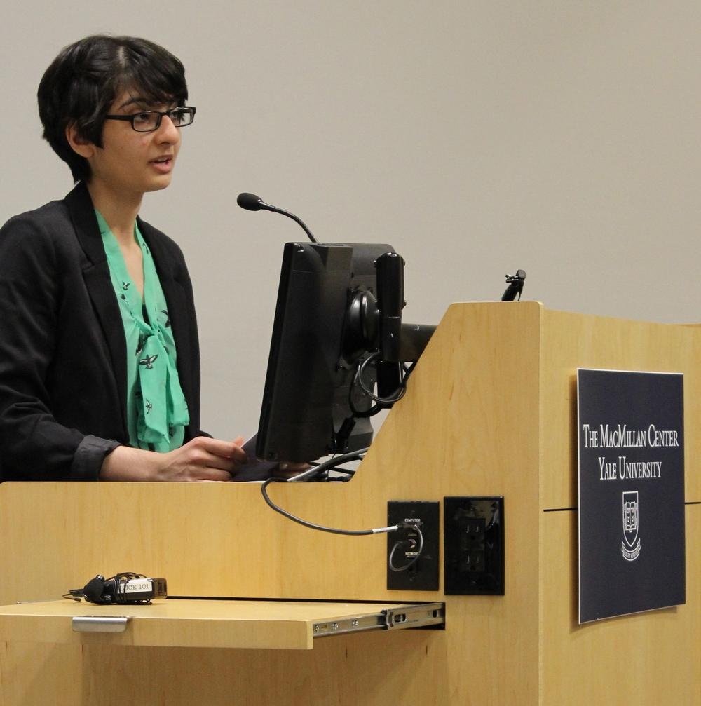 YHD Board Member Nooreen Reza, Davenport '15