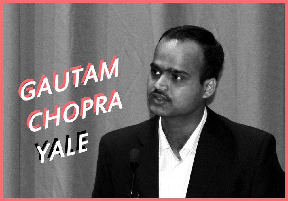 Photography at the event by Karthikeyan Ardhanareeswaran, Yale University