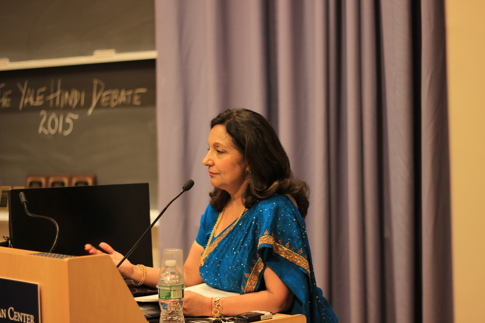 Professor Seema Khurana, Senior Lector, SASC, Yale University; YHD Faculty Co-ordinator