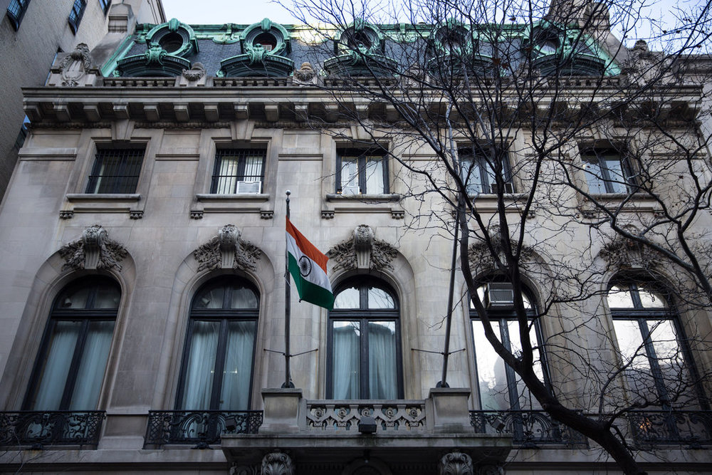 Consulate General of India, NYC -- Source: NYT