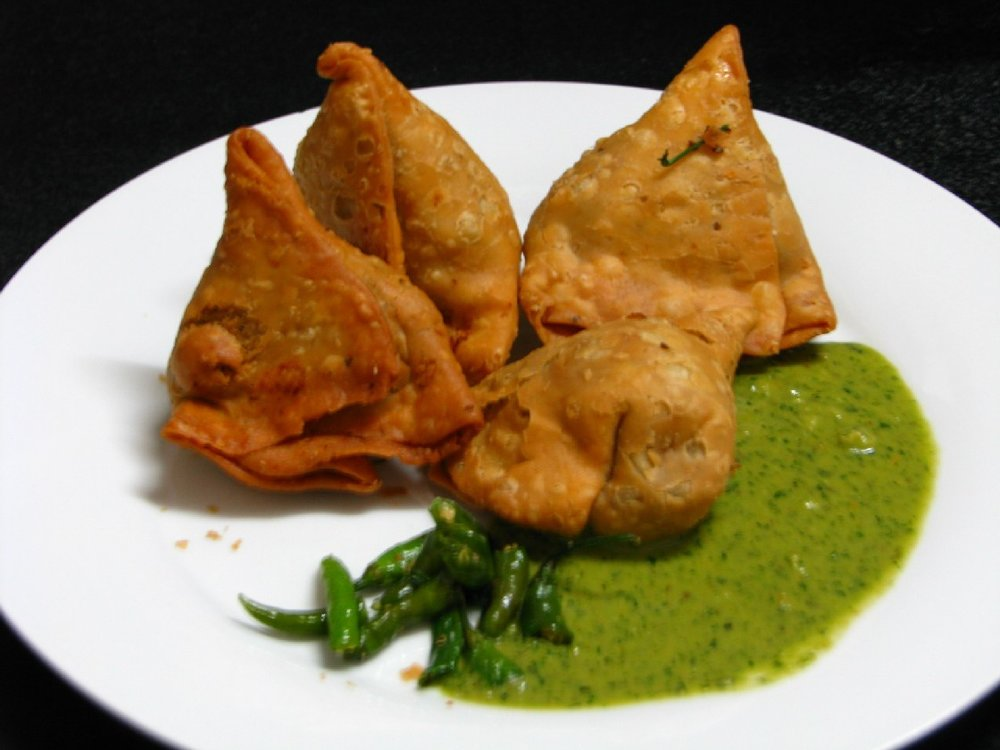 Photo: https://en.wikipedia.org/wiki/Samosa