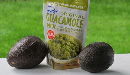 Come and enjoy some delicious good fats with Frontera's Guacamole sauce !