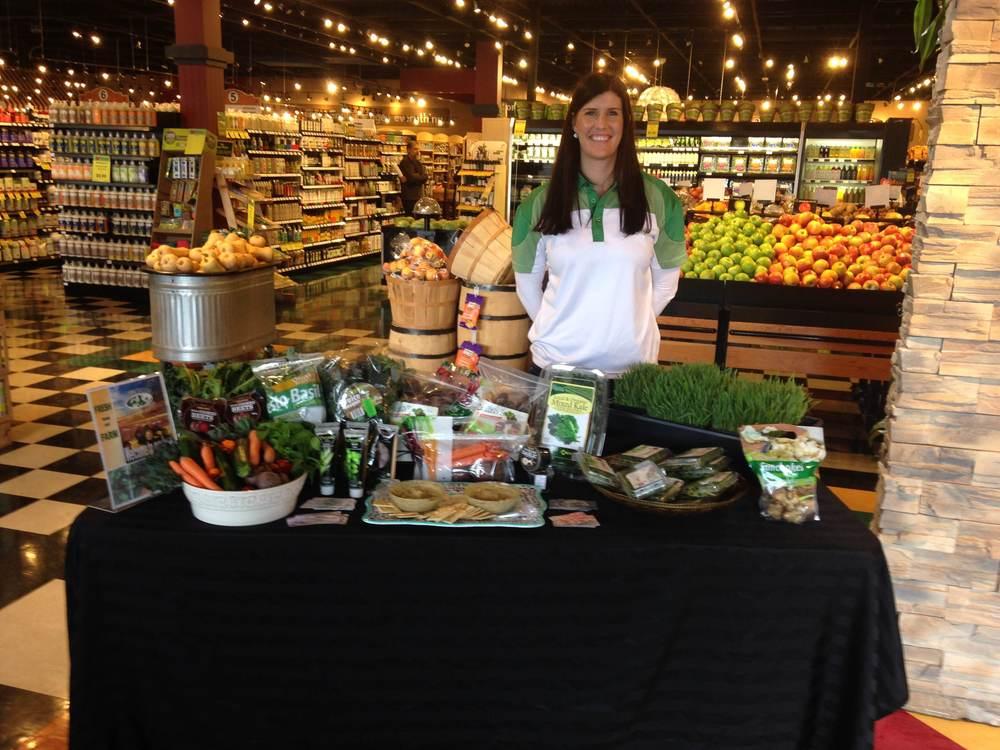 Helga from Roots Organic/Evergreen Herbs during organic week