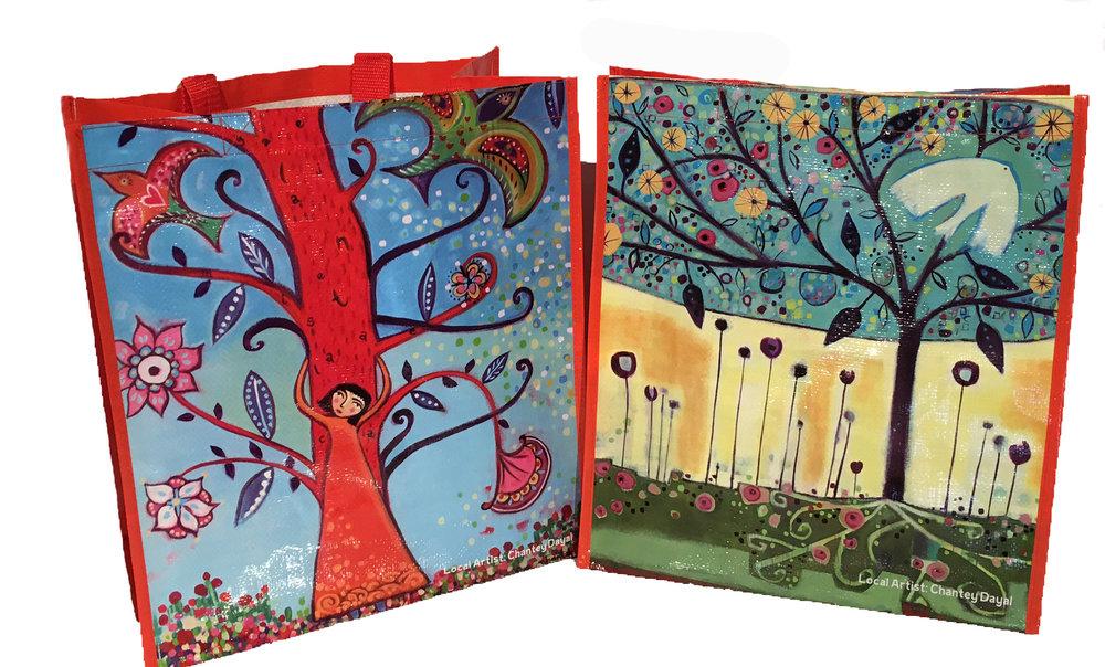 Special Edition Art Bag #006, by local artist Chantey Dayal