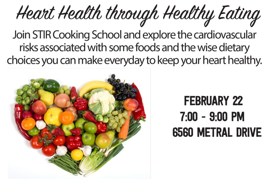 Class @ Nanaimo: Heart Health Through Healthy Eating