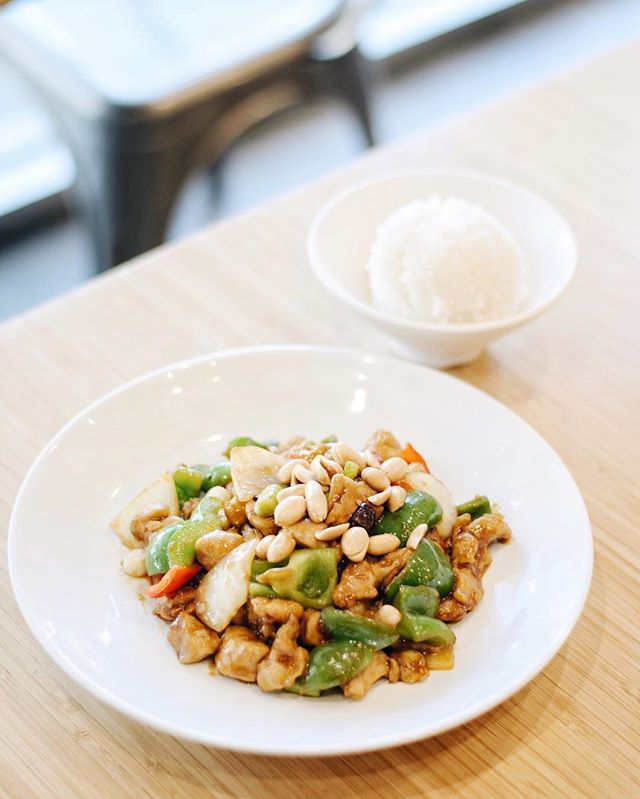 Our Kung Pao Chicken packs a punch! Don't believe us? Come try it for yourself!🐔 . . . #delicious #yummy #tasty #instafood #foodstagram #newmenu #upgrades #chinesefood #goodeats #laeats #ucla #westwood #phaat #treatyoself #realfood #nomnom #eeeeeats #koalatcafe