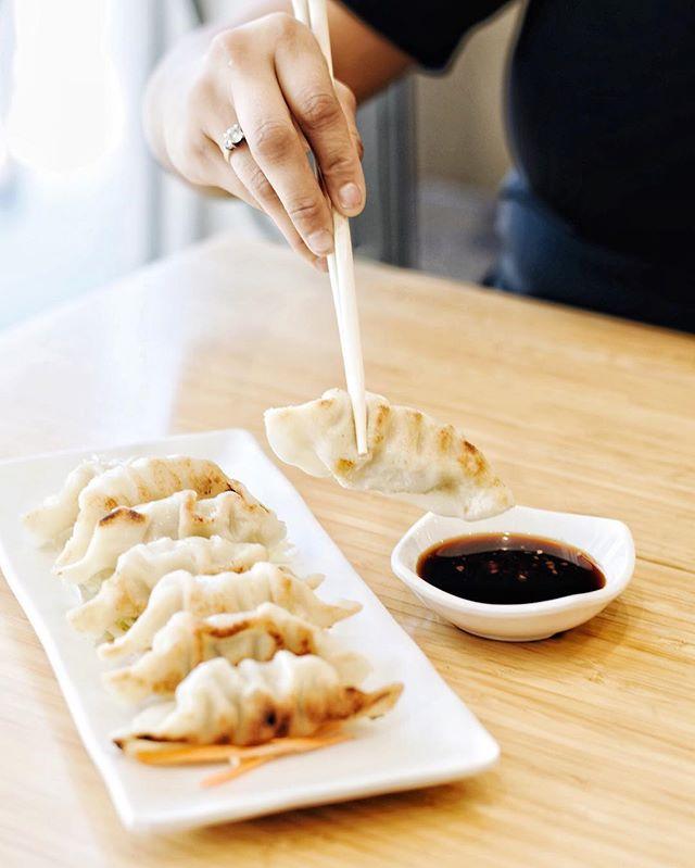 Mmmmmm 🤤🤤 these potstickers can't be beat! . . . #delicious #yummy #tasty #instafood #foodstagram #newmenu #upgrades #chinesefood #goodeats #laeats #ucla #westwood #phaat #treatyoself #realfood #nomnom #eeeeeats #koalatcafe