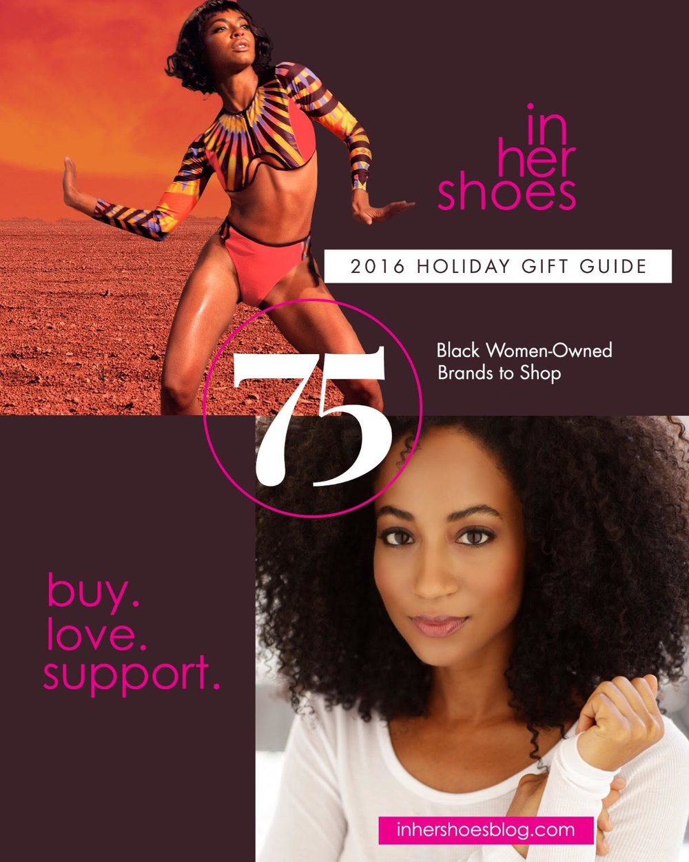 Thanks to InHerShoesBlog.com for including us in their holiday gift guide. Go to the site to check out the list of 75 black women-owned brands.