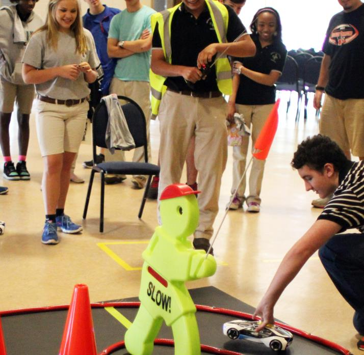 Figure 1: SPTC racing event at Louisiana Tech