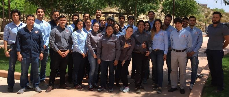 Figure 1: UTEP TLC officers and members