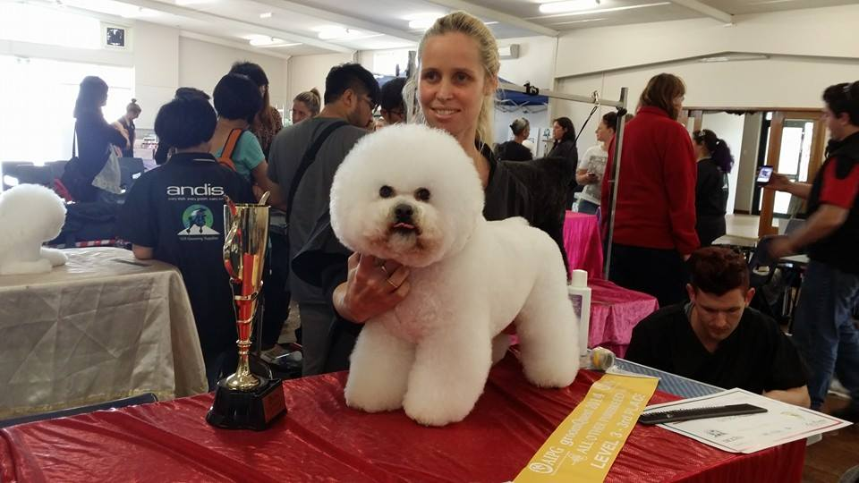 Naomi's 3rd place in master level at Groomquest 14