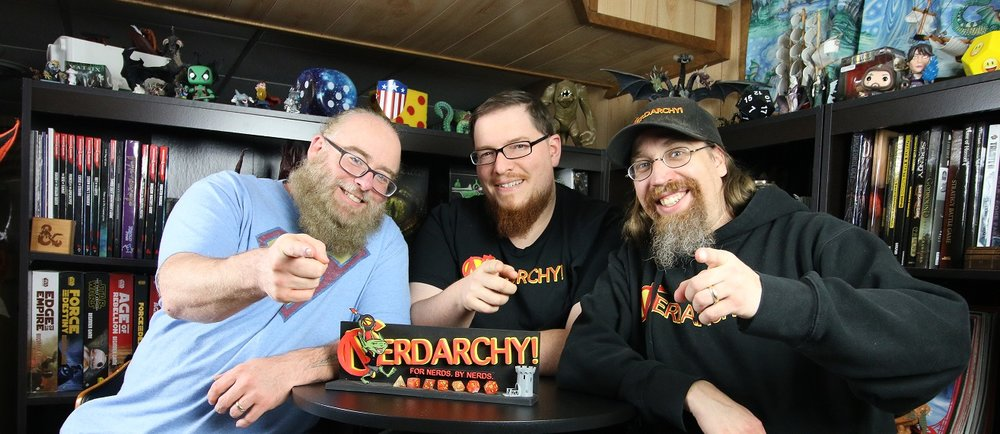 Now with more nerdarchy! - Dave Friant is coming to play. A founder of Nerdarchy and partner of Save or Dice, Dave is a multi-platform content creator, producer, and game designer. He believes an invitation to the game table is an invitation of friendship and works to expand the roleplaying culture he loves by welcoming new players and encouraging current players with new ideas, concepts and content.
