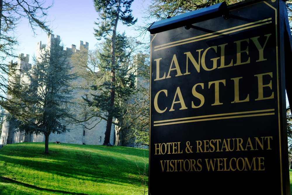 Langley Castle  is a genuine medieval keep, complete with four crenelated towers. It is a bastion of bygone wars with 10 foot stone walls and Robin-Hood-worthy battlements. The castle is nestled deep in the heart of ancient Roman territory, in the border territories of old Northumbria.