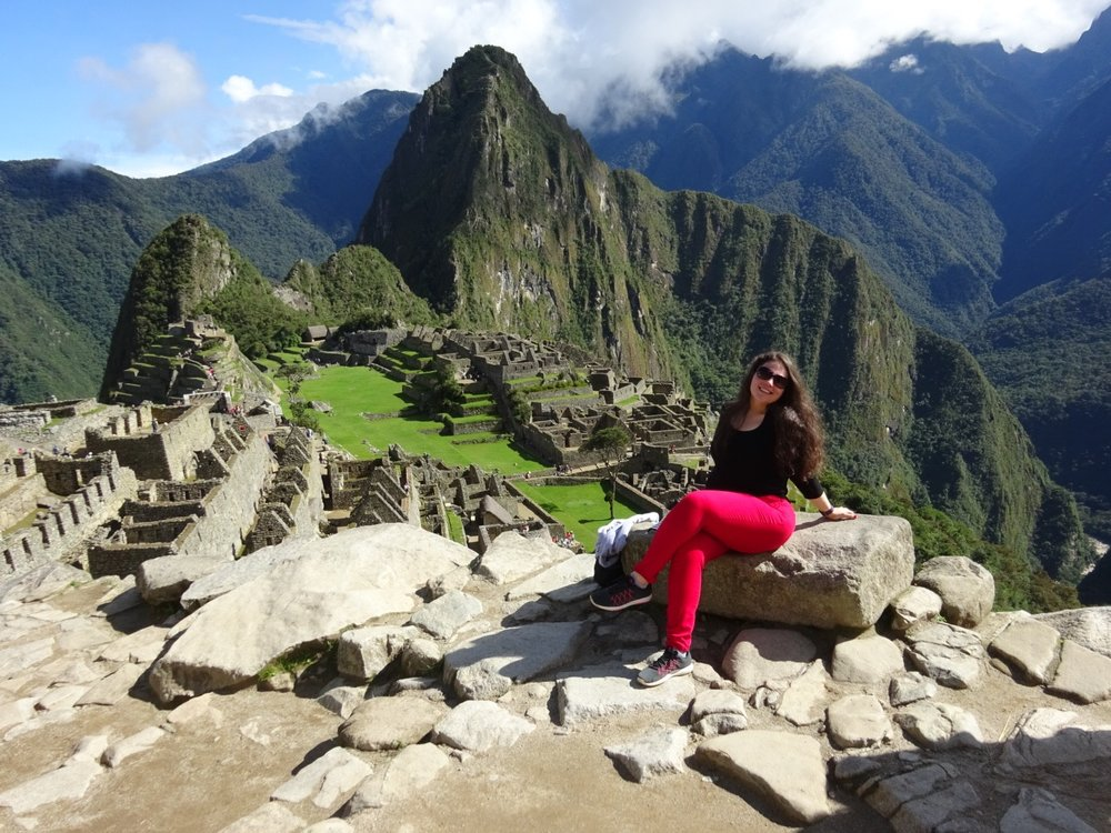 Visiting Machu Picchu in March 2016