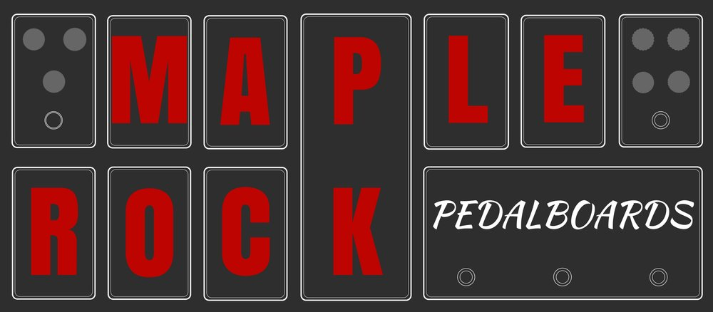 Maple Rock - Custom Pro Pedalboard is an amazing company based out of Acton, Ontario. They've helped me dream up and build many pedalboards, as well as other key parts of my live looping rig. Super creative and knowledgeable.