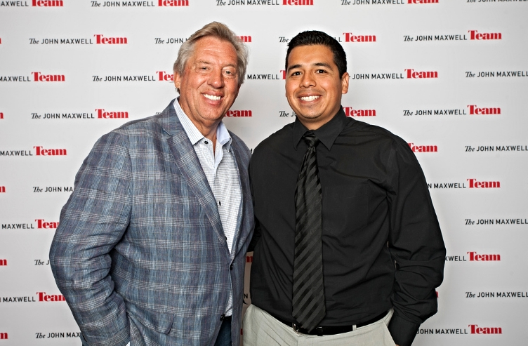 My first of many encounters with leadership expert, John C. Maxwell.
