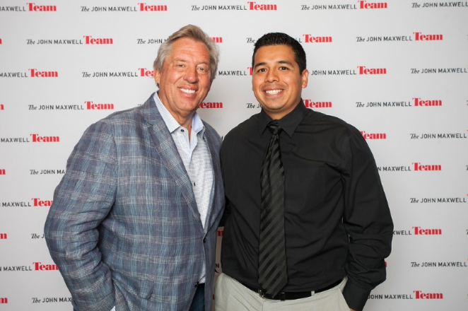 Partnering up with my mentor Dr. John C. Maxwell to train and develop leaders has been a thrill.