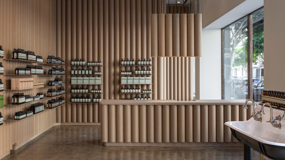 Stores los angeles aesop store by brooks scarpa aestate - Interior designers in los angeles ...