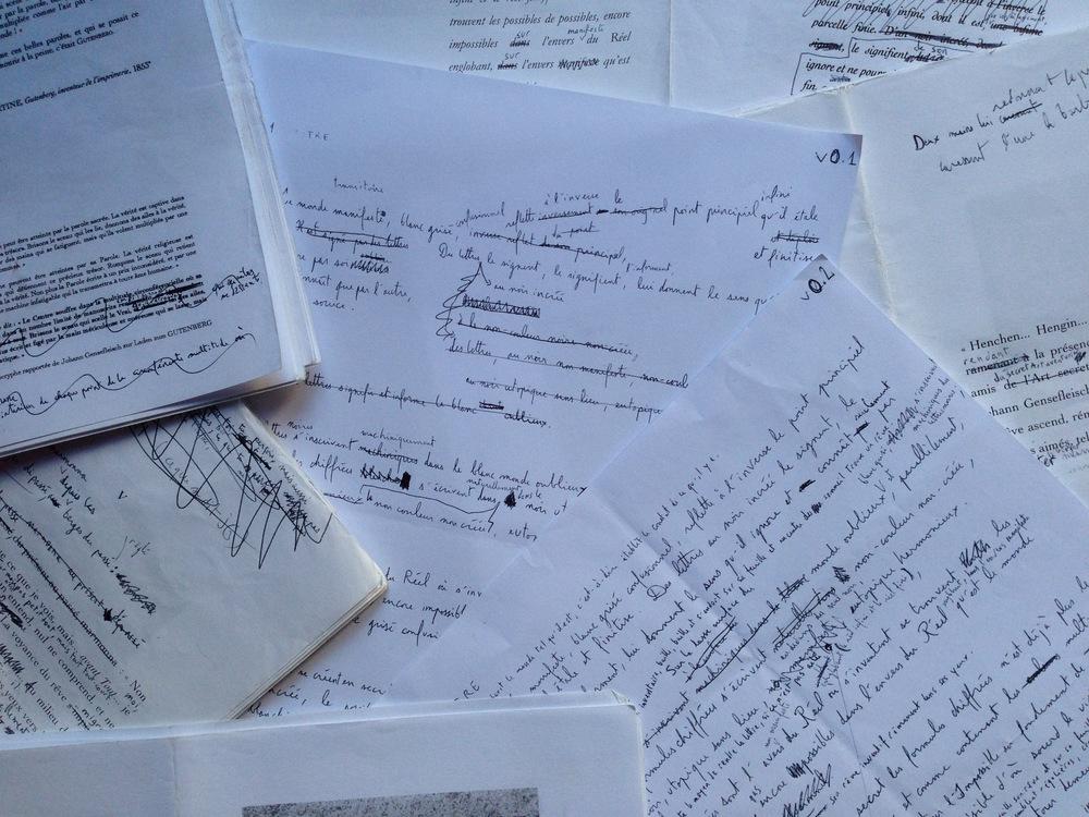 Brice Bonfanti (2010) Brouillons du Chant de Johann Gensefleisch.jpg