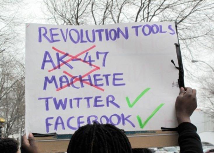 digital activism/slacktivism