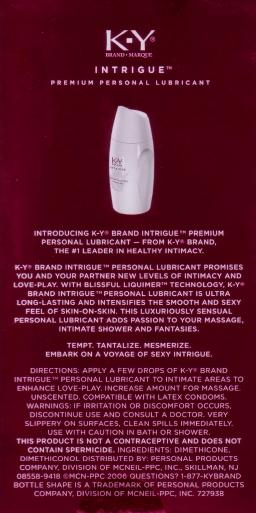 Packaging (rear)
