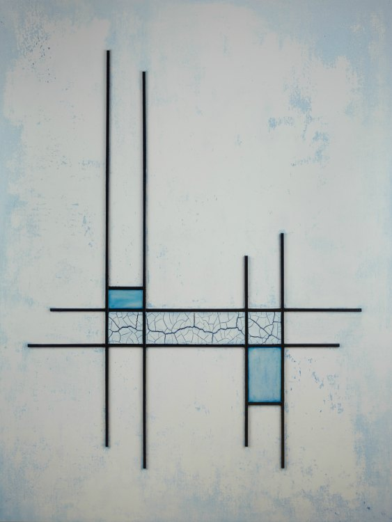 Minimal Abstract Painting by Terri Deskins