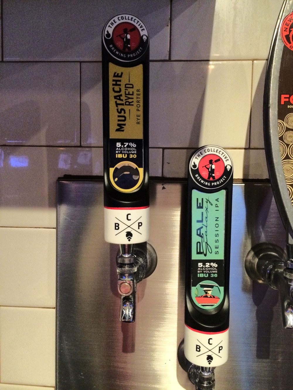 Our taps at The Pour House