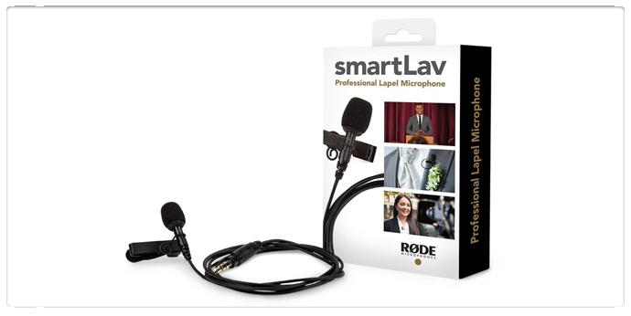 RODE SmartLav Lavalier Microphone
