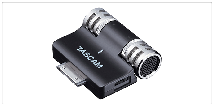 Tascam iM2 Portable Digital Recorder for iOS Devices