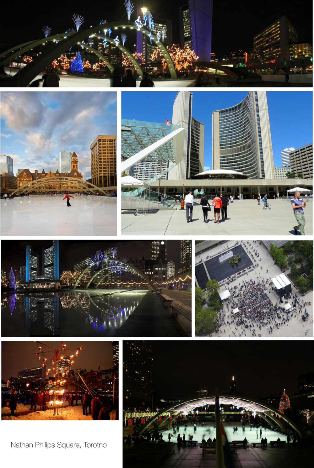 Nathan Philips Square videographer & photographer shoot location.
