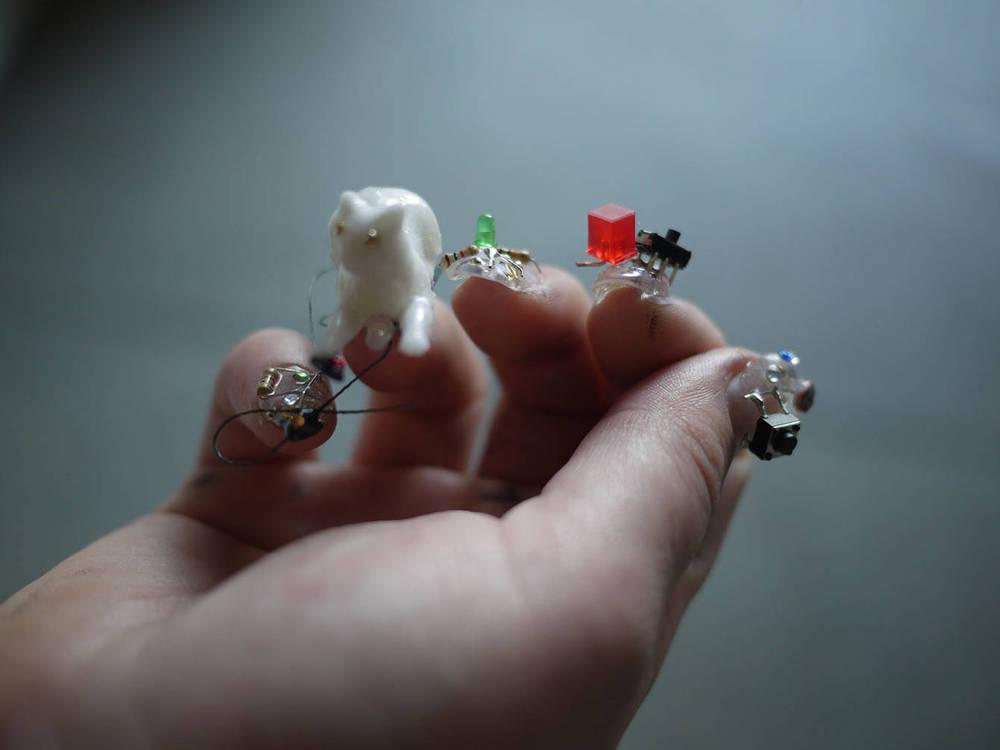 Useless Wearables (Photo: Kristina Ortega)