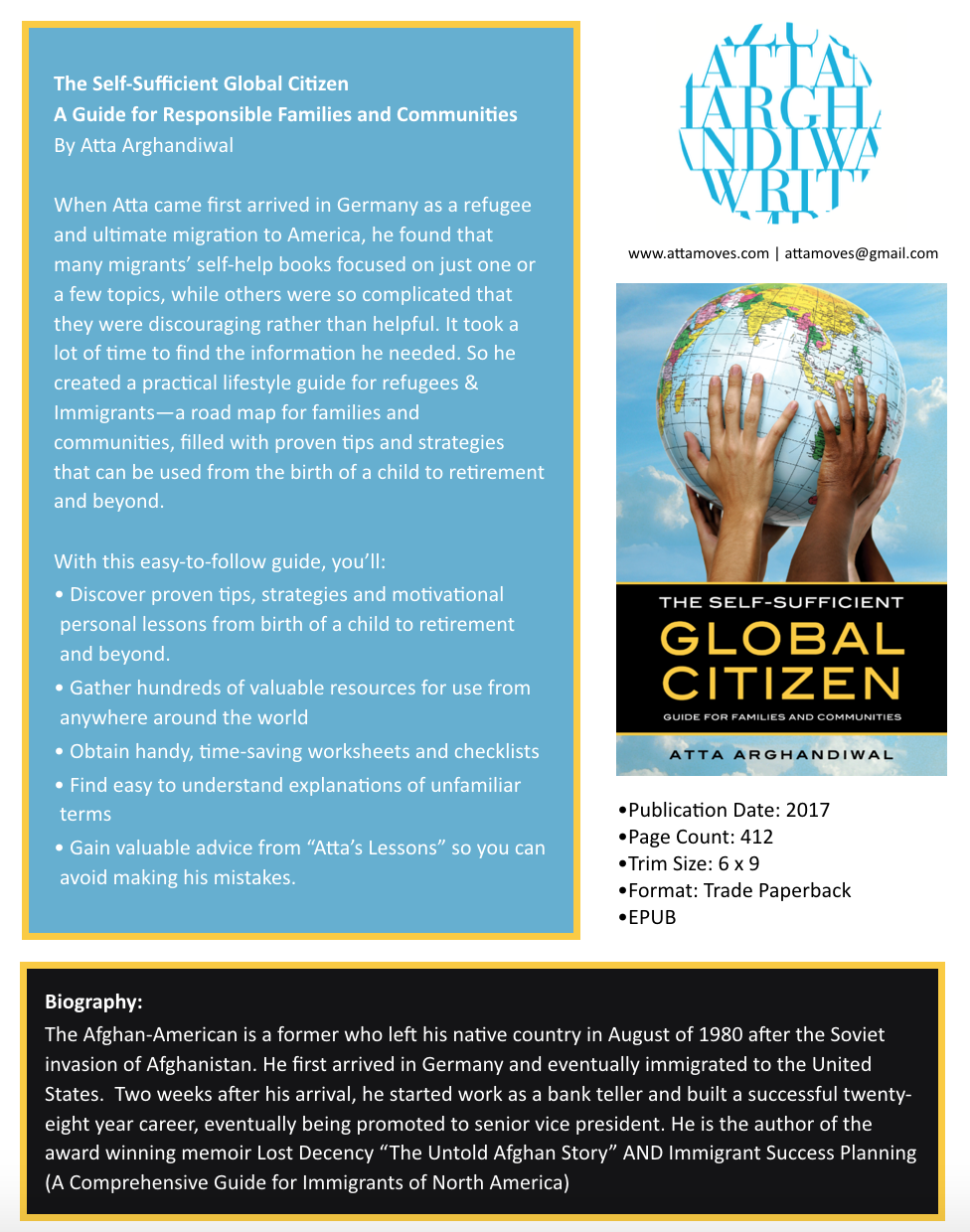 Press release - The Self-sufficient global citizen