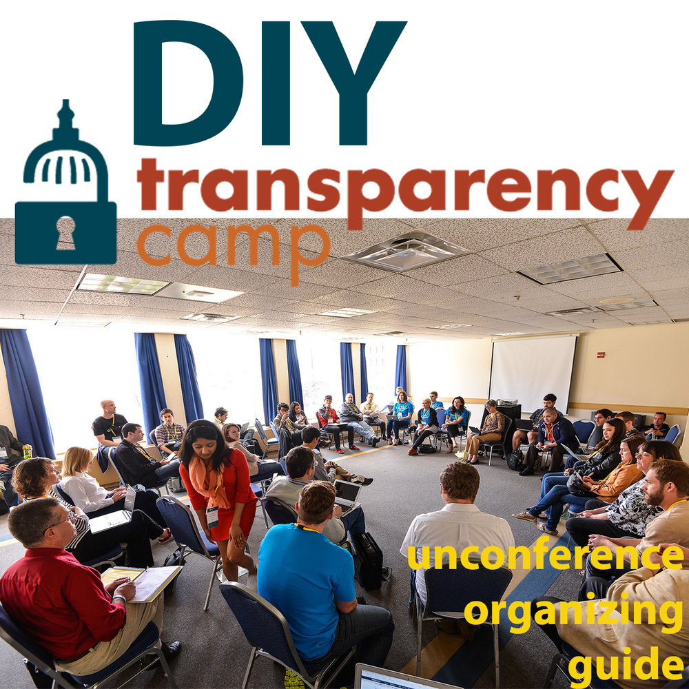 In July 2012, I took the framework we used to organize  TransparencyCamp , the Sunlight Foundation's annual community event, and shared them publicly. This comprehensive organizing pack spans two sections, unconference administration and basic structural/outreach tips, and is intended for first-time organizers and veterans alike.     You can download the PDF version here  . Other formats available at  http://transparencycamp.com/how-to.