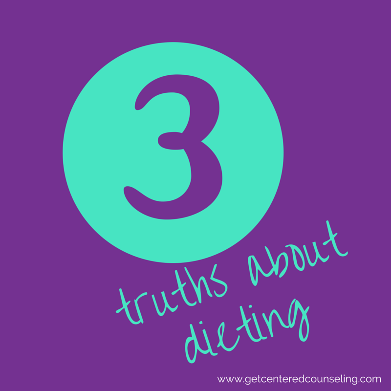 truths about dieting