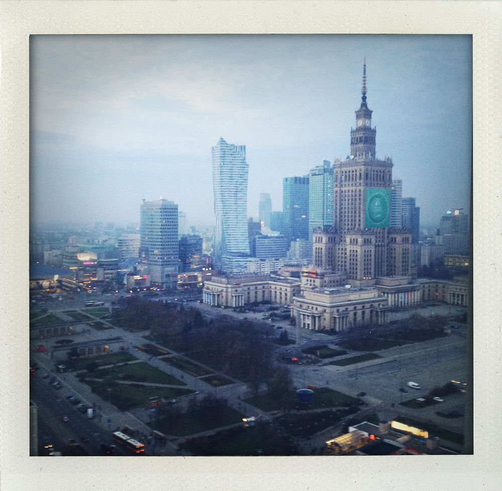 Warsaw, Poland (November 2013) - location of The Farm of Innovation (FARMA INWENCJI) conference