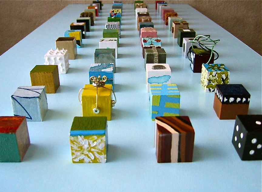 '52 Blocks' project with friends - paint a block a week!